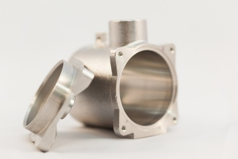 Solenoid stainless steel part