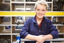 Female Engineering Apprentice