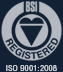 BSI Registered - ISO 9001:2015