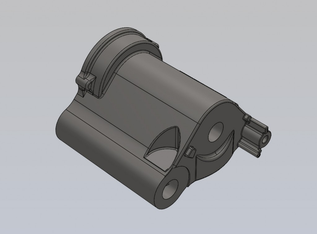 3D CAD is required as this is used for casting simulation purposes and for tool manufacture.