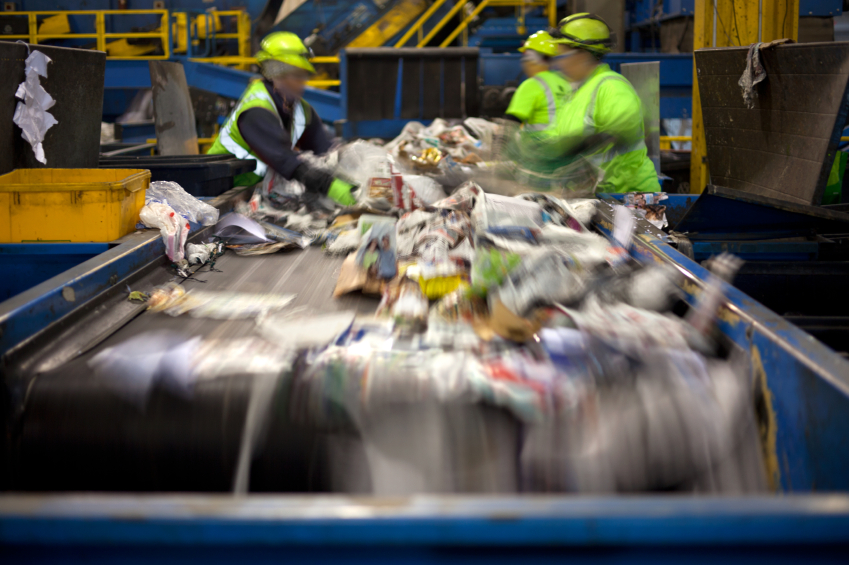 Recycling machinery iStock_000034143984_Small