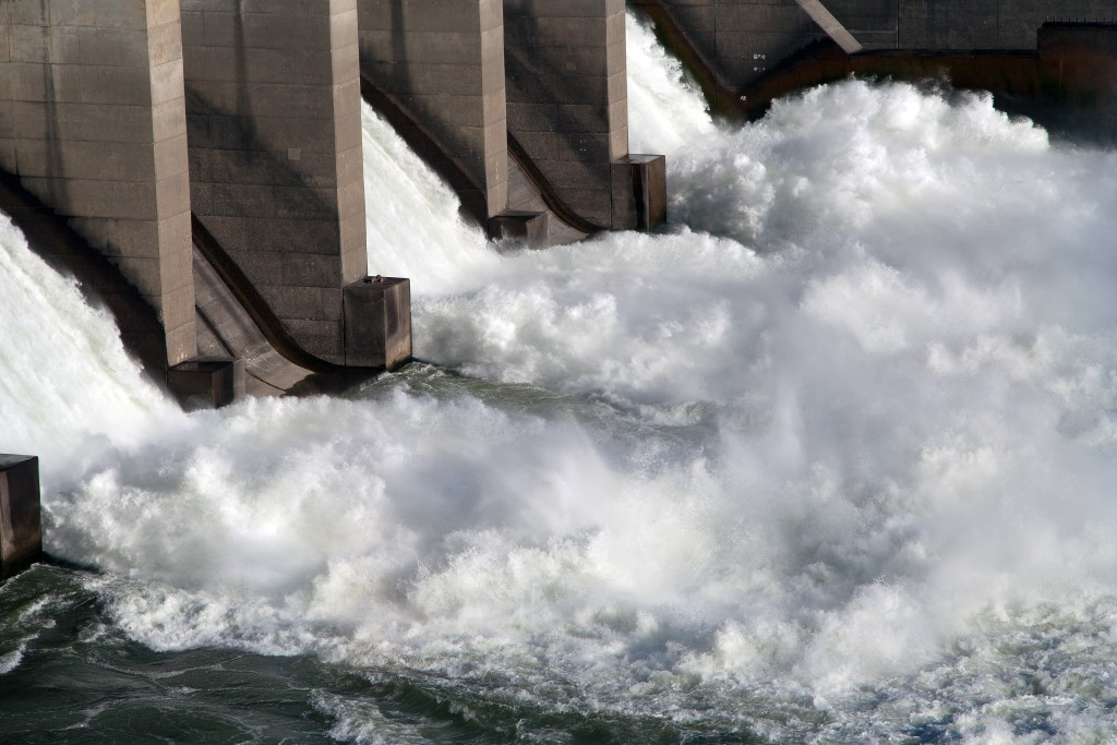 Columbia River Locks