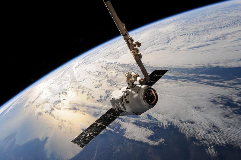 uk space industry; satellite in space
