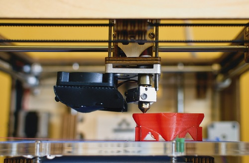 3d printing part in manufacturing